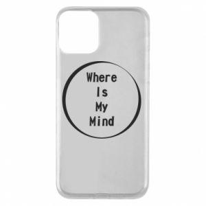 Etui na iPhone 11 Where is my mind