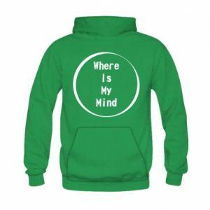 Bluza z kapturem dziecięca Where is my mind