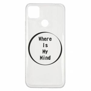 Etui na Xiaomi Redmi 9c Where is my mind