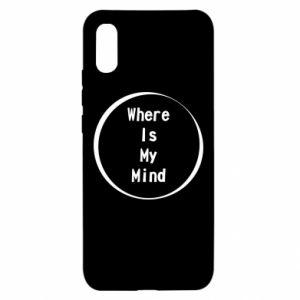 Etui na Xiaomi Redmi 9a Where is my mind