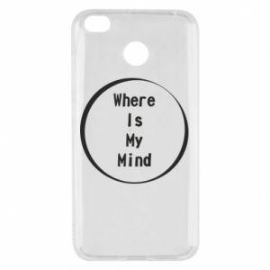 Etui na Xiaomi Redmi 4X Where is my mind
