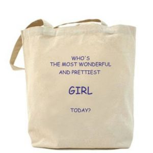 Bag Who's the most wonderful