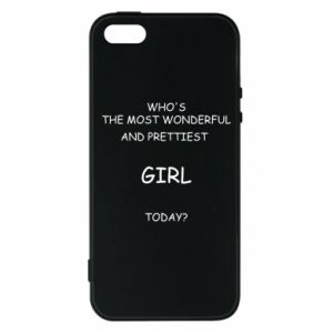 Phone case for iPhone 5/5S/SE Who's the most wonderful