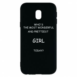 Phone case for Samsung J3 2017 Who's the most wonderful