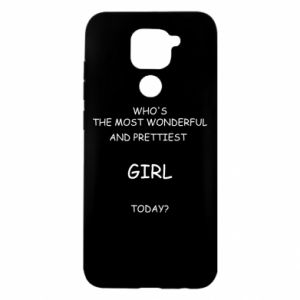 Etui na Xiaomi Redmi Note 9/Redmi 10X Who's the most wonderful