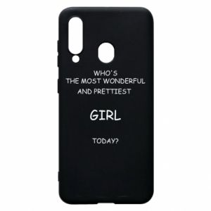Phone case for Samsung A60 Who's the most wonderful