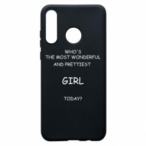 Phone case for Huawei P30 Lite Who's the most wonderful