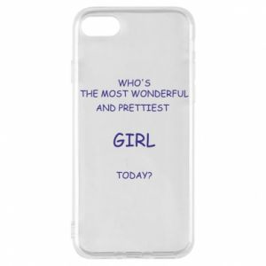 Phone case for iPhone 8 Who's the most wonderful