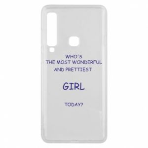Phone case for Samsung A9 2018 Who's the most wonderful