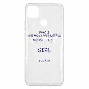 Etui na Xiaomi Redmi 9c Who's the most wonderful