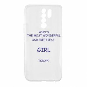 Etui na Xiaomi Redmi 9 Who's the most wonderful