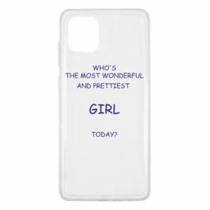 Etui na Samsung Note 10 Lite Who's the most wonderful