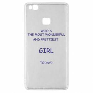 Etui na Huawei P9 Lite Who's the most wonderful