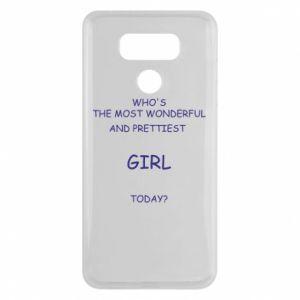 Etui na LG G6 Who's the most wonderful