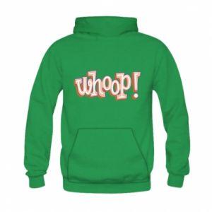 Bluza z kapturem dziecięca Whoop!