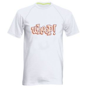Men's sports t-shirt Whoop!