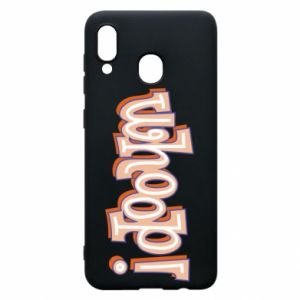 Phone case for Samsung A30 Whoop!