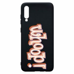 Phone case for Samsung A70 Whoop!