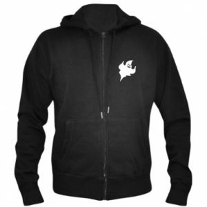 Men's zip up hoodie Wicked smile - PrintSalon