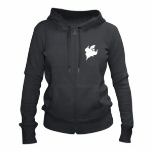 Women's zip up hoodies Wicked smile - PrintSalon