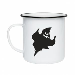 Enameled mug Wicked smile - PrintSalon