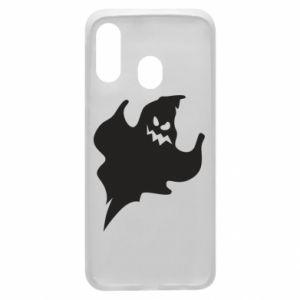 Phone case for Samsung A40 Wicked smile - PrintSalon
