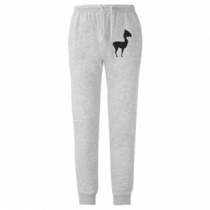 Męskie spodnie lekkie Wielbłąd