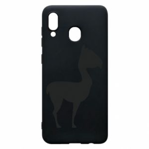 Etui na Samsung A20 Wielbłąd