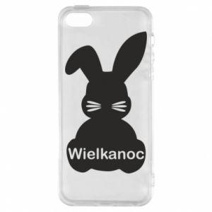 Etui na iPhone 5/5S/SE Wielkanoc. Królik