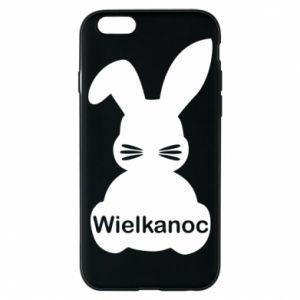Etui na iPhone 6/6S Wielkanoc. Królik