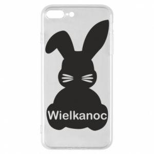 Etui na iPhone 7 Plus Wielkanoc. Królik