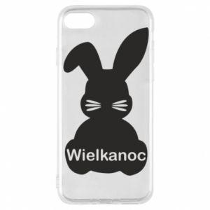 Etui na iPhone 8 Wielkanoc. Królik