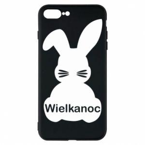 Etui na iPhone 8 Plus Wielkanoc. Królik