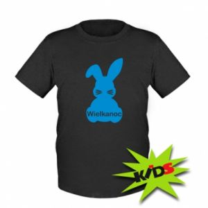 Kids T-shirt Easter. Bunny