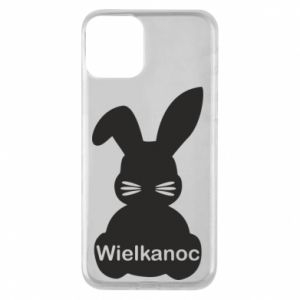 Etui na iPhone 11 Wielkanoc. Królik
