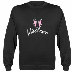 Bluza (raglan) Wielkanoc. Uszy królika