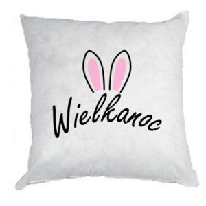 Poduszka Wielkanoc. Uszy królika