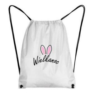Backpack-bag Easter. Bbunny ears