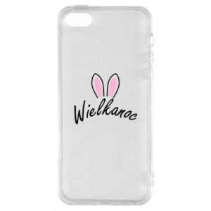Phone case for iPhone 5/5S/SE Easter. Bbunny ears