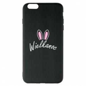 Etui na iPhone 6 Plus/6S Plus Wielkanoc. Uszy królika