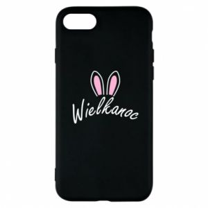 Phone case for iPhone 7 Easter. Bbunny ears