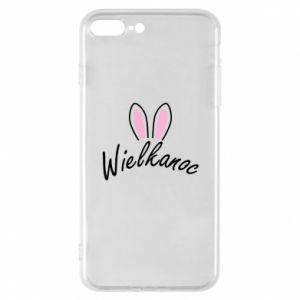 Etui na iPhone 7 Plus Wielkanoc. Uszy królika
