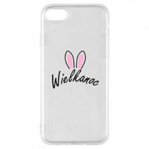 Etui na iPhone 8 Wielkanoc. Uszy królika