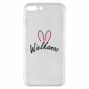 Etui na iPhone 8 Plus Wielkanoc. Uszy królika