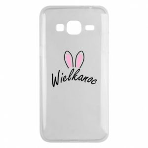 Phone case for Samsung J3 2016 Easter. Bbunny ears