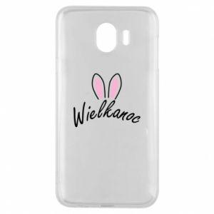 Etui na Samsung J4 Wielkanoc. Uszy królika