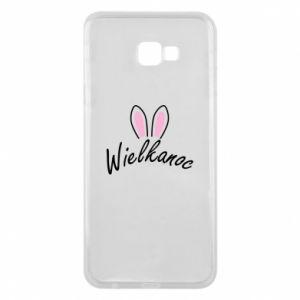 Etui na Samsung J4 Plus 2018 Wielkanoc. Uszy królika