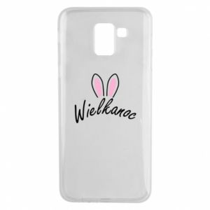 Phone case for Samsung J6 Easter. Bbunny ears