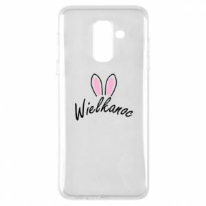 Phone case for Samsung A6+ 2018 Easter. Bbunny ears