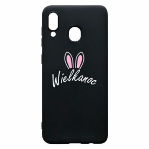 Phone case for Samsung A30 Easter. Bbunny ears